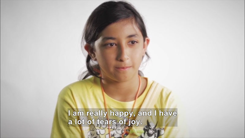 Still image from: Children of Military Families: Volume 3--Homecoming and Military Pride