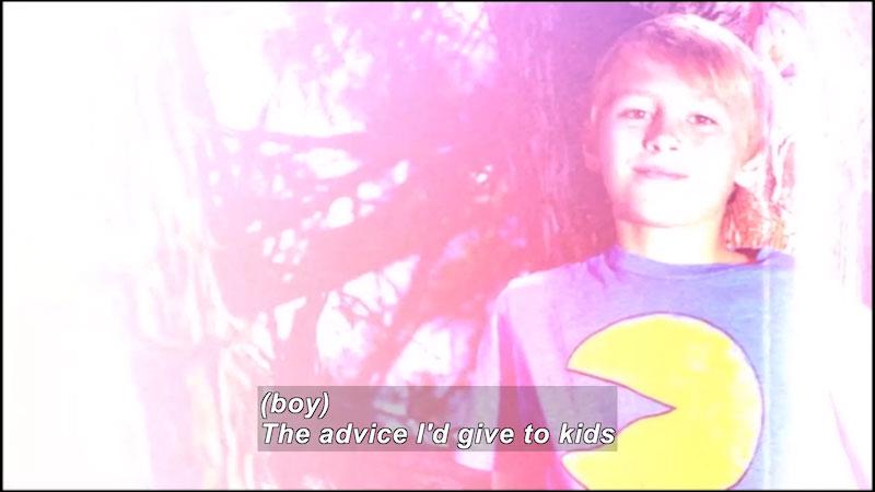 Still image from: Children and Divorce: Children Teaching Children About Divorce (Volume 3--Ways to Cope)