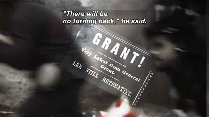 Still image from: Ulysses S. Grant: A Legacy of Freedom
