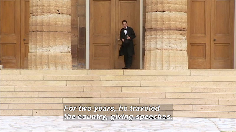 Still image from: Abraham Lincoln: A Journey to Greatness