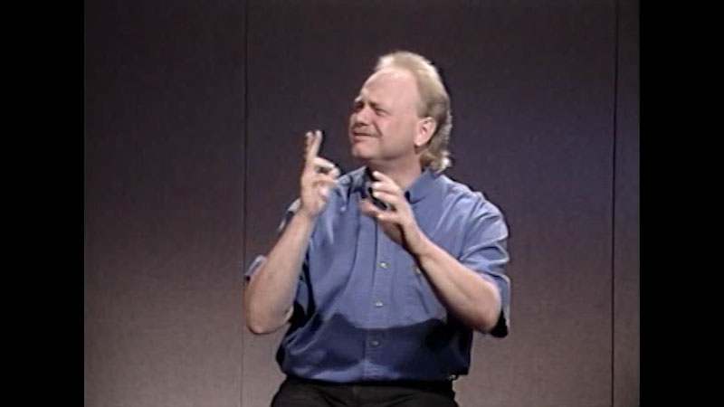 Still image from Advanced American Sign Language Series: Video #2 Classifiers in American Sign Language