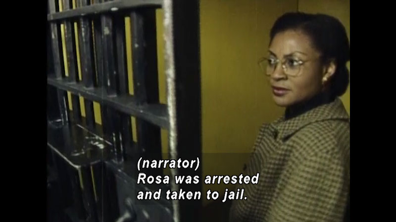 Still image from: Standing Up for Freedom: Rosa Parks
