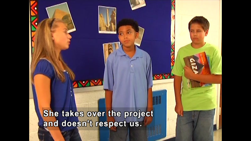 Still image from: My Blog: A Little Respect Please!