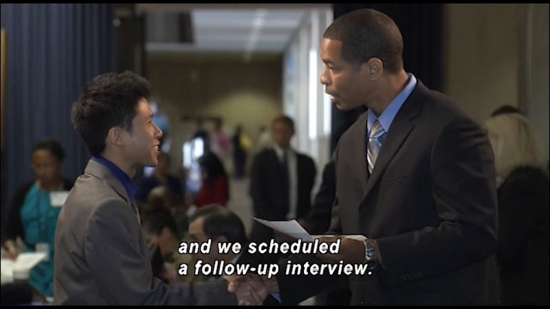 Still image from: Mastering Soft Skills for Workplace Success: Soft Skills to Pay the Bills (Networking)