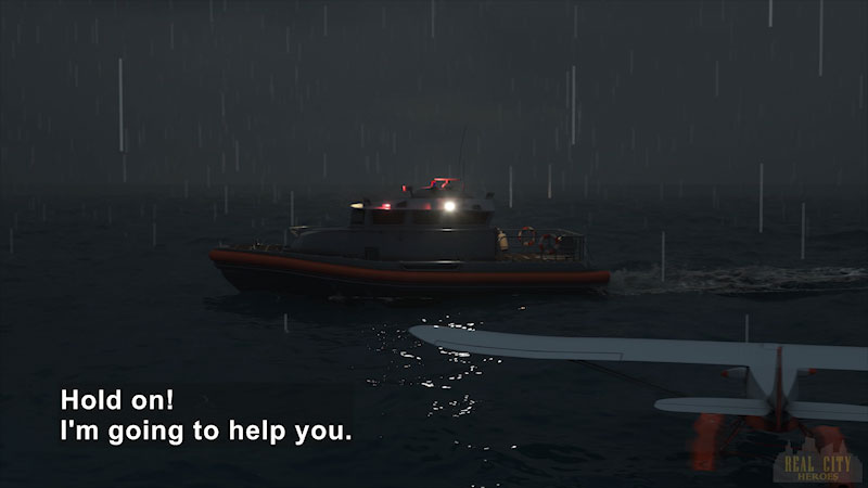 Still image from: Real City Heroes: Flip the Rescue Boat & Ava the Submarine