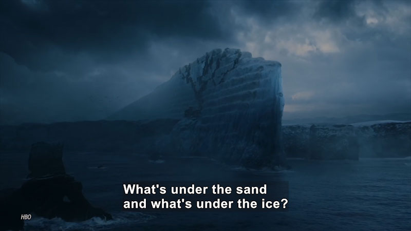 Still image from Uno Dos of Trace: Could We Actually Build the Wall From Game of Thrones?