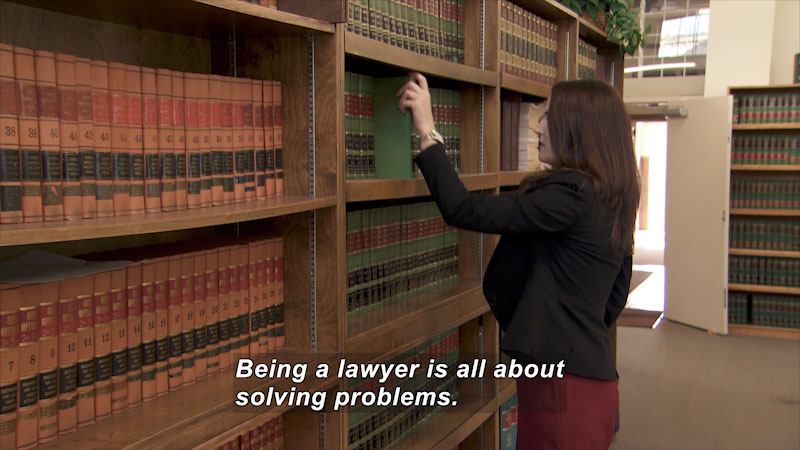 Still image from: I Can Be Anything I Want to Be A to Z: Lawyer