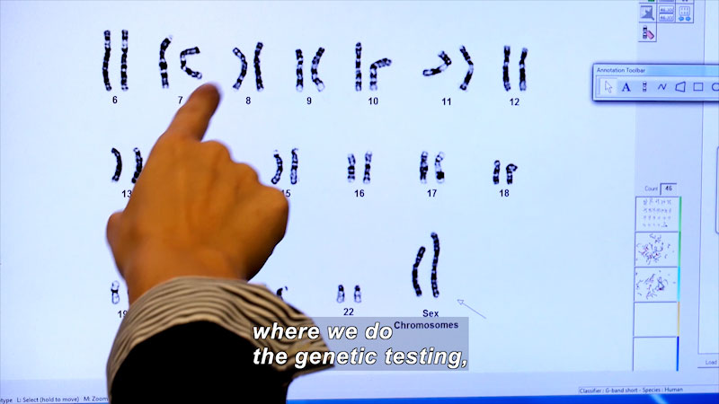 Still image from: I Can Be Anything I Want to Be A to Z: Genetic Counselor