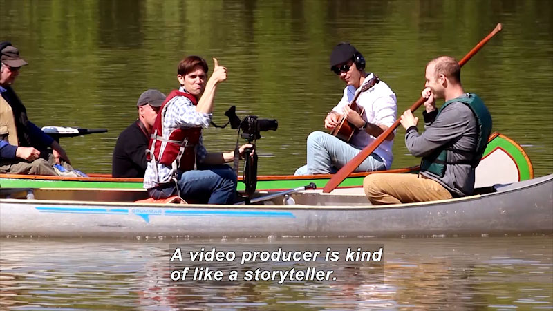 Still image from I Can Be Anything I Want to Be A to Z: Video Producer