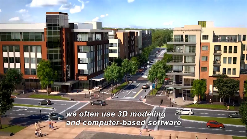 Still image from I Can Be Anything I Want to Be A to Z: Urban Planner