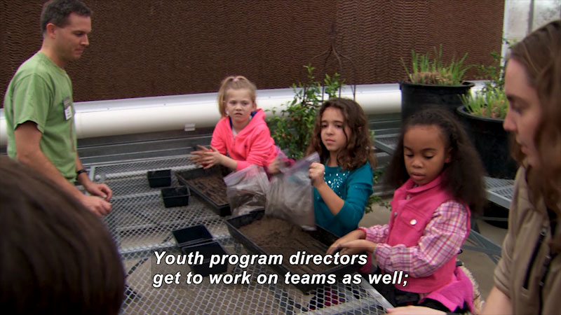 Still image from: I Can Be Anything I Want to Be A to Z: Youth Program Director