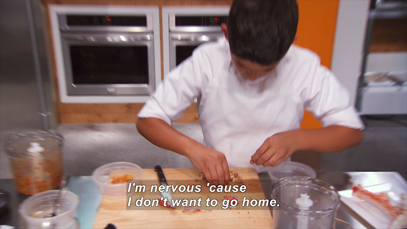 Still image from Top Chef Junior: Stirring Up a Celebration