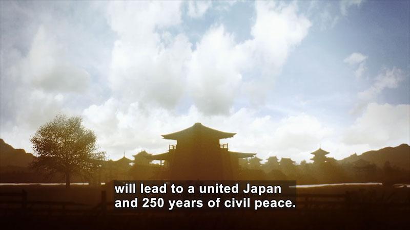 Still image from: Butterfly Effect: Sekigahara--The Battle of the Samurai