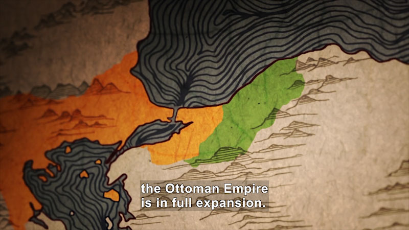 Still image from: Butterfly Effect: Constantinople From One Empire to the Other