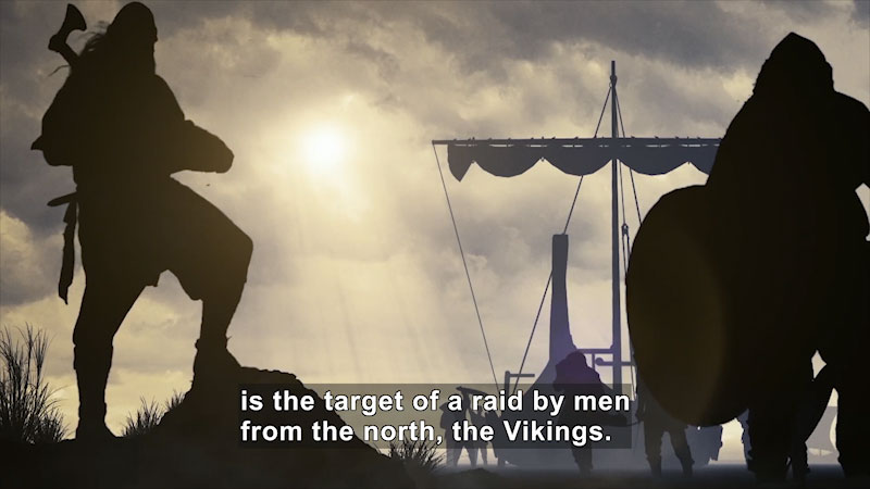 Still image from: Butterfly Effect: Vikings--Assault on the Frankish Empire