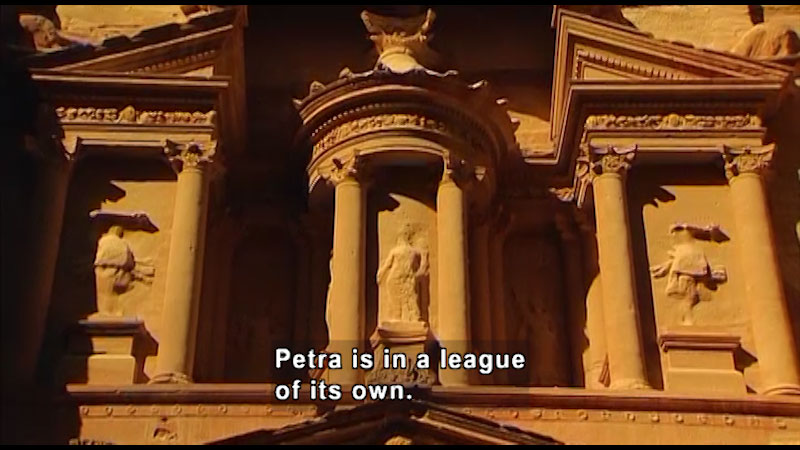 Still image from: Around the World: Asia--Petra