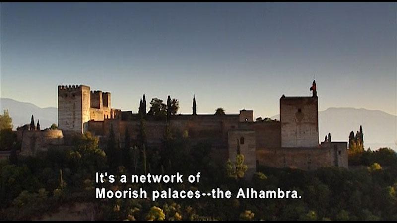 Still image from: Around the World: Europe--Alhambra