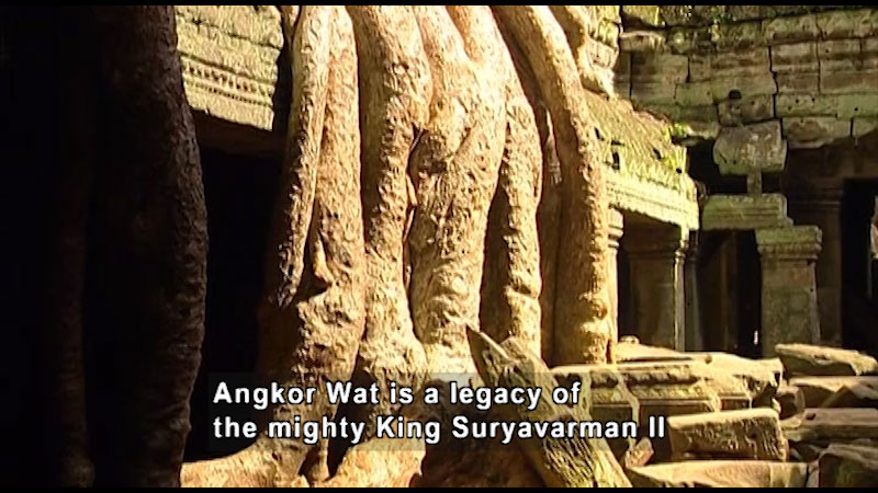 Still image from: Around the World: Asia--Angkor Wat