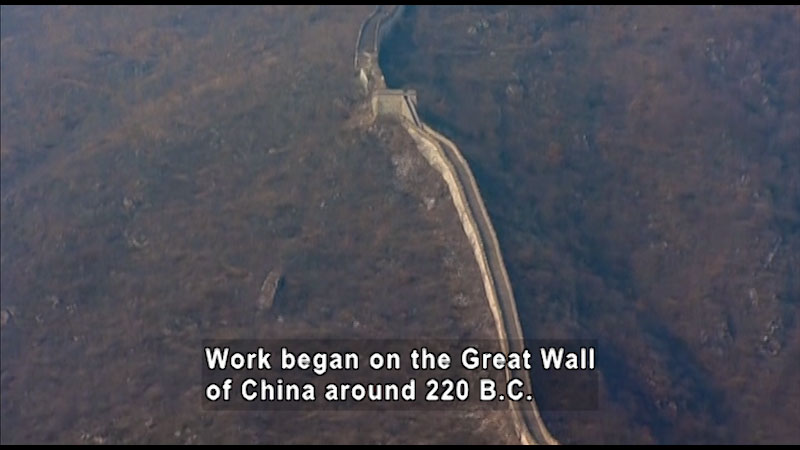 Still image from: Around the World: Asia--The Great Wall
