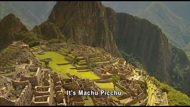 Still image from: Around the World: South America--Machu Picchu