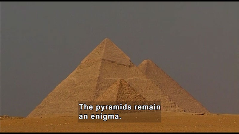 Still image from: Around the World: Africa--The Pyramids