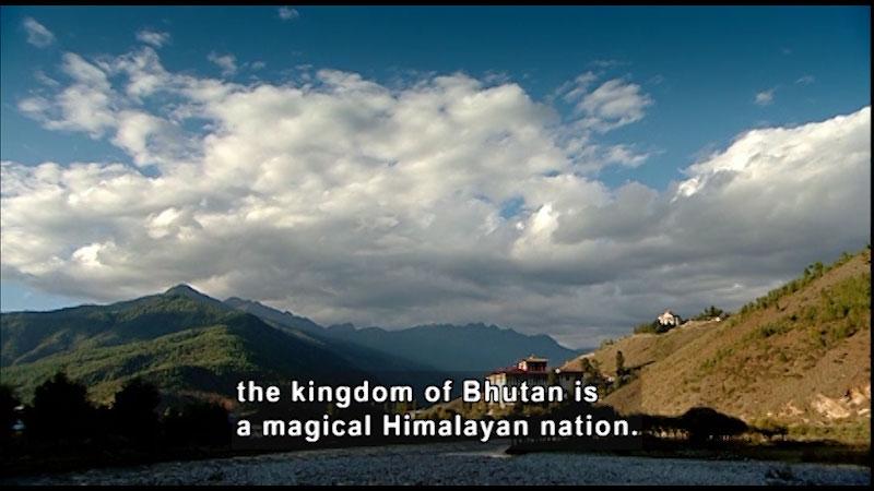 Still image from: Around the World: Asia--Bhutan