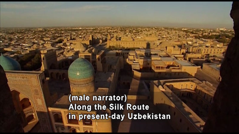 Still image from: Around the World: Asia--Trading Domes of Bukhara