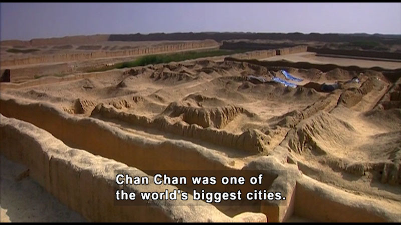 Still image from: Around the World: South America--Chan Chan
