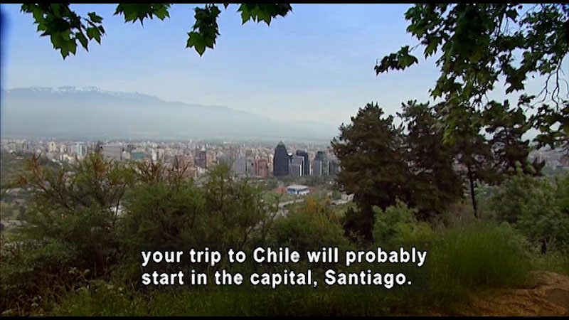 Still image from: Around the World: South America--Chile
