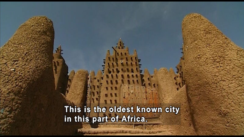 Still image from: Around the World: Africa--Djenné Mosque