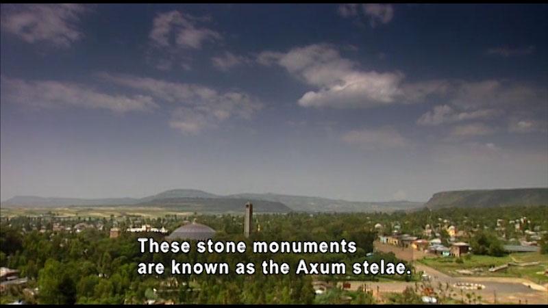 Still image from: Around the World: Africa--Kingdom of Axum