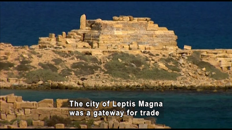 Still image from: Around the World: Africa--Leptis Magna