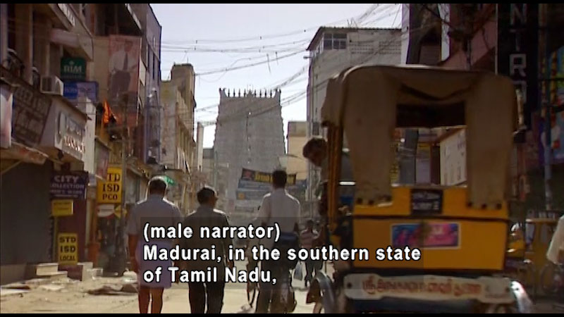 Still image from: Around the World: Asia--Meenakshi Temple of Madurai