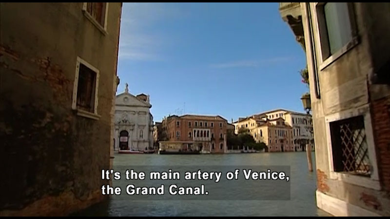 Still image from: Around the World: Europe--Venice