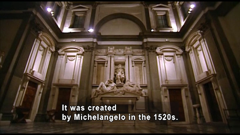 Still image from: Around the World: Europe--Medici Chapel