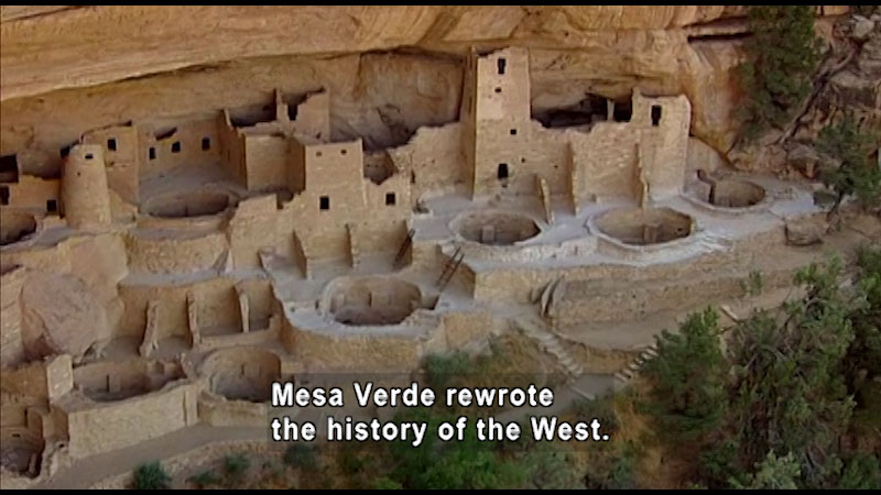 Still image from: Around the World: North America--Mesa Verde