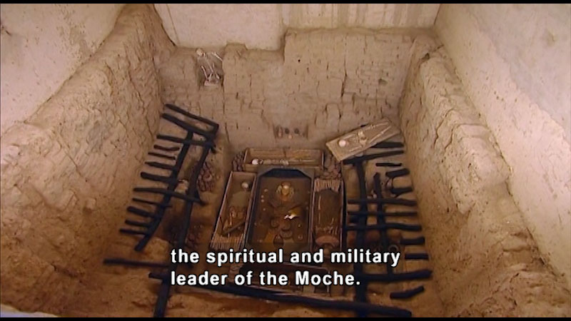 Still image from: Around the World: South America--Burial Treasures of the Moche