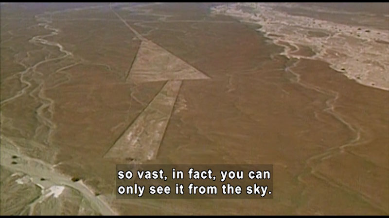 Still image from: Around the World: South America--The Nazca Lines