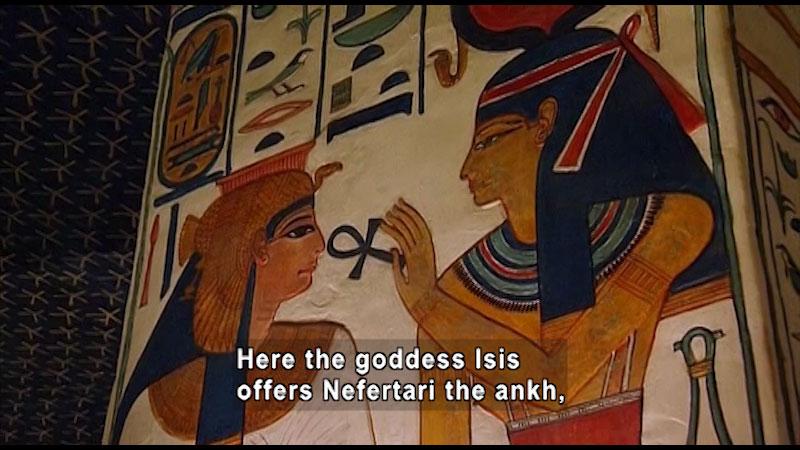 Still image from: Around the World: Africa--Queen Nefertari's Tomb