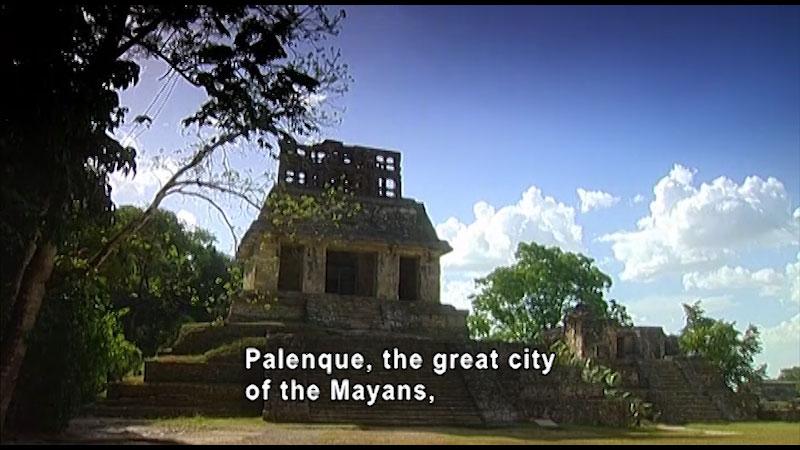 Still image from: Around the World: North America--Palenque