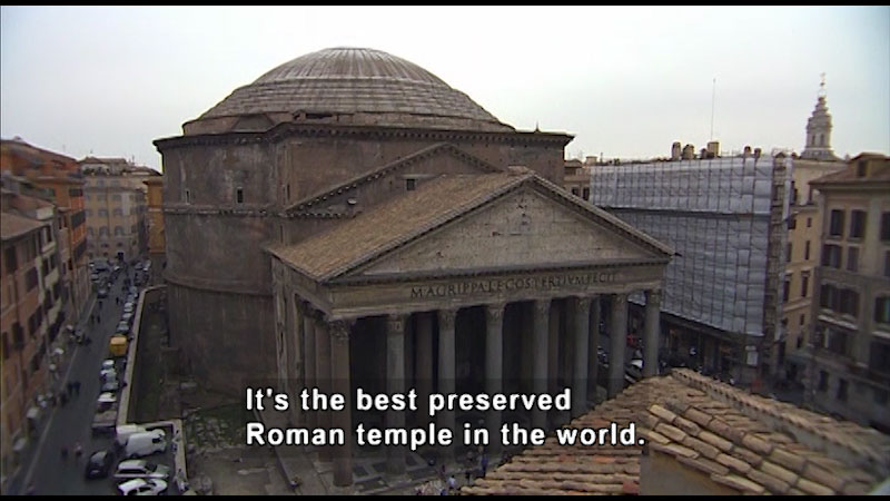 Still image from: Around the World: Europe--The Pantheon