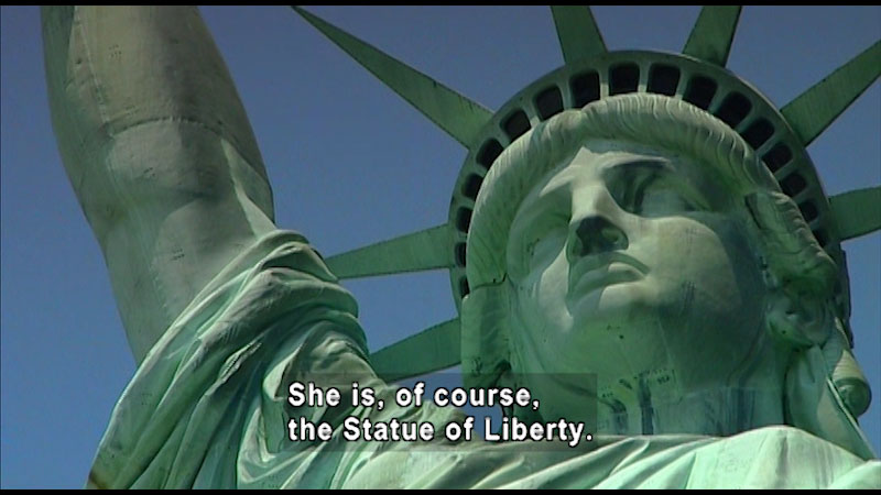 Still image from: Around the World: North America--The Statue of Liberty