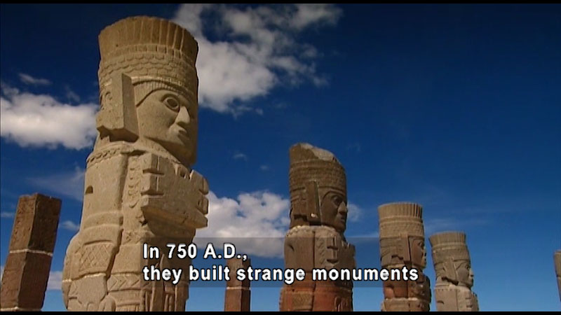 Still image from: Around the World: North America--The Toltec Giants of Tula