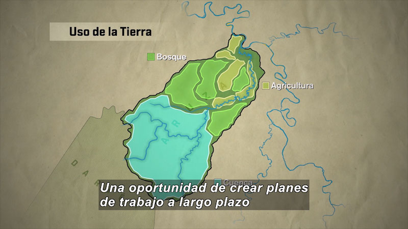 Still image from Mapping the Darién Gap (Spanish)