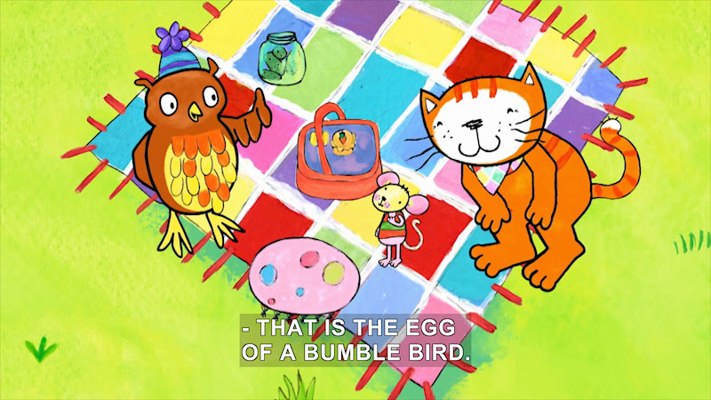 Still image from Poppy Cat: Bumble Fumble