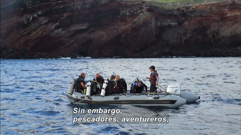 Still image from Inside the Sea: Revillagigedo--The Last Frontier in the Mexican Pacific II (Spanish)