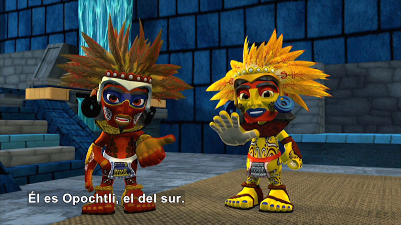 Still image from Ollin and the Tlaloques (Spanish)