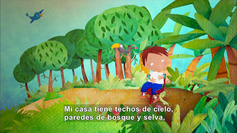 Still image from: My Home (Spanish)