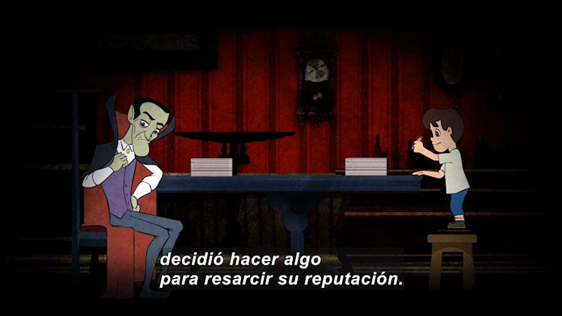 Still image from The Spelling Vampire (Spanish)