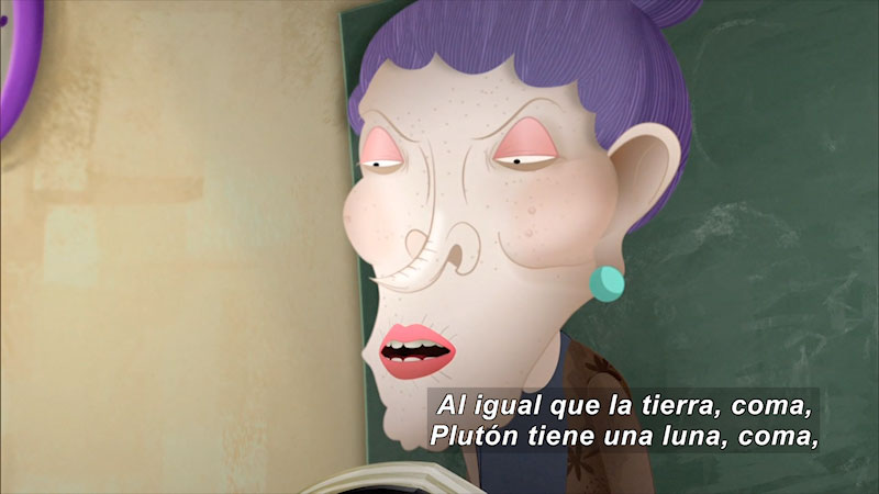 Still image from: Dictation (Spanish)
